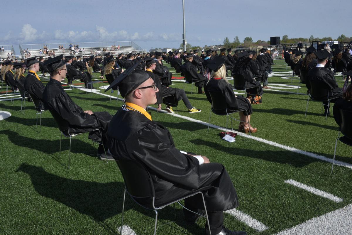 Mandan High School graduation