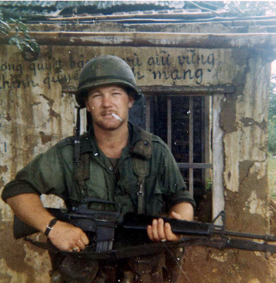 Ronald Wahl in infantry