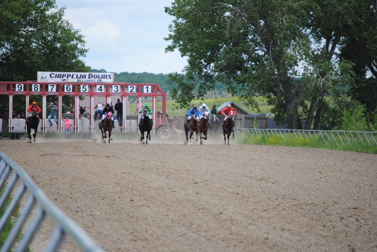 The Chippewa Downs horse races