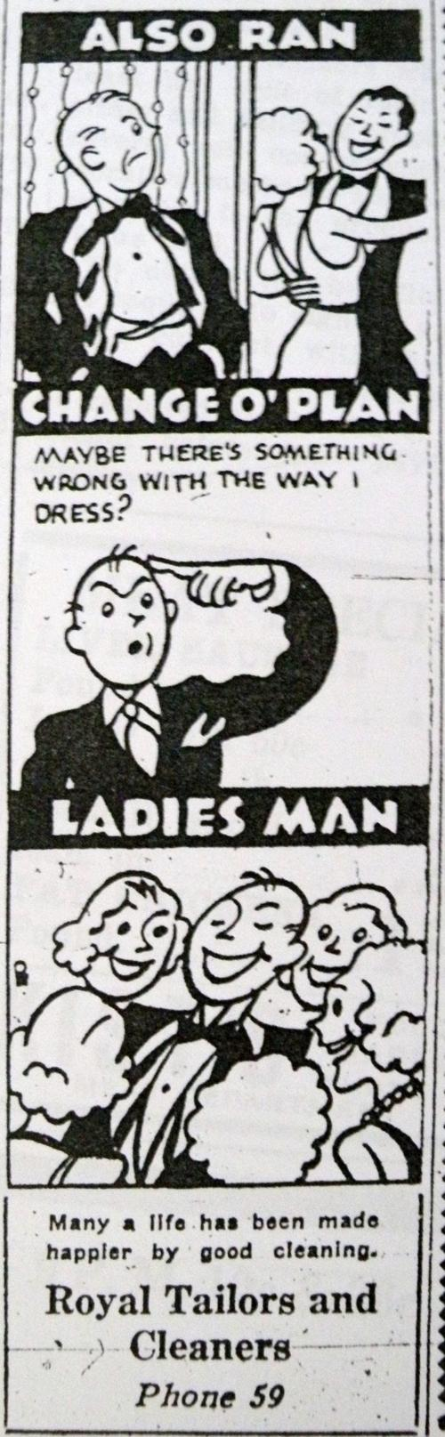 Royal Cleaners, 1935