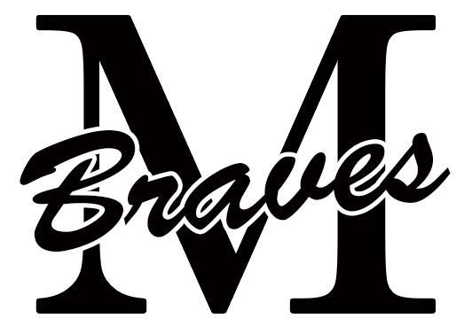 Mandan Braves logo