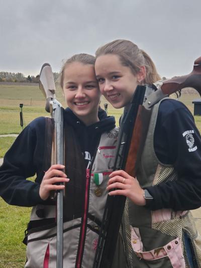 Sisters Kylie Thompson and Jenna Thompson