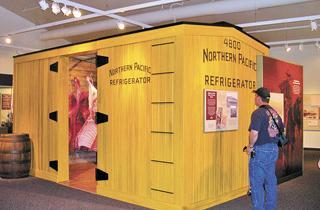 New Medora interpretive center offers look at history