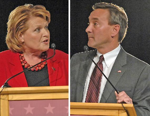 Senate candidates debate one more time