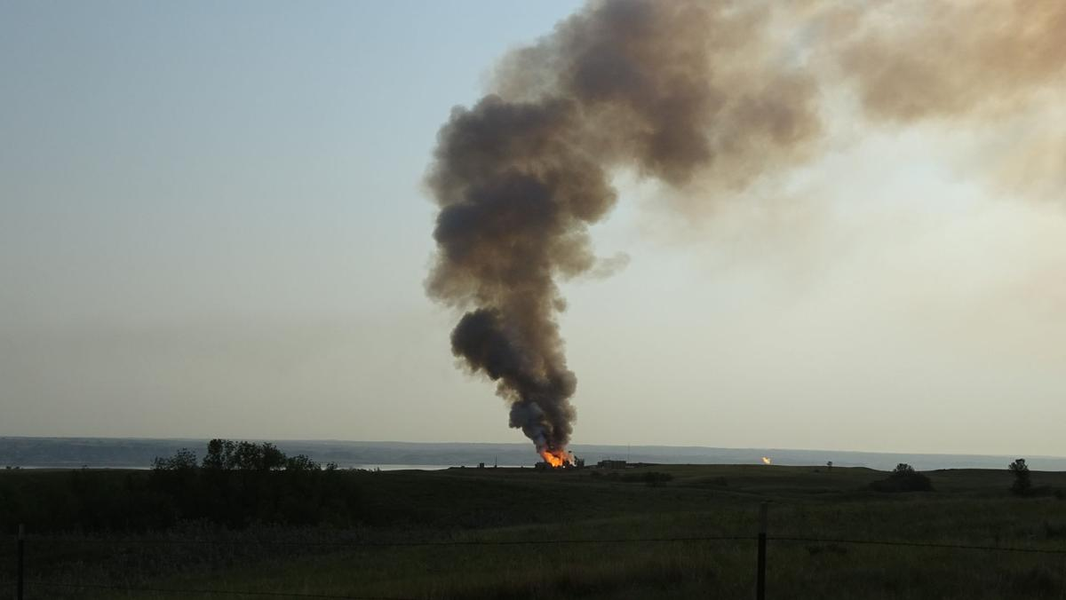 Fire Dakota Prairie Grasslands