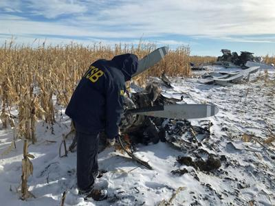 Plane crash photo