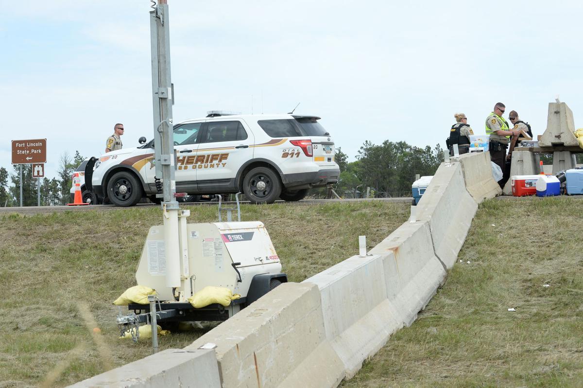 Concrete barricades