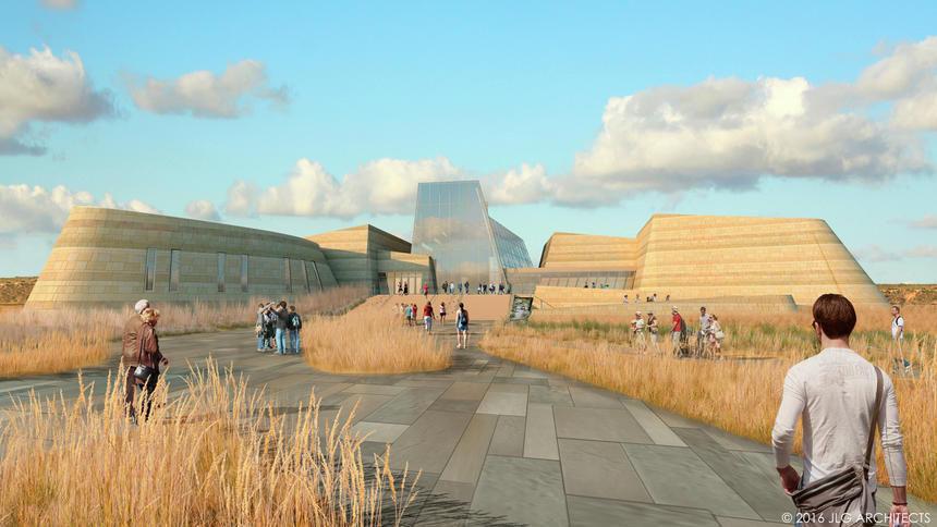 Proposed facade