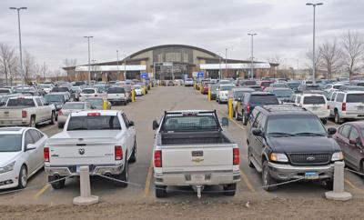 Parking at Bismarck Airport