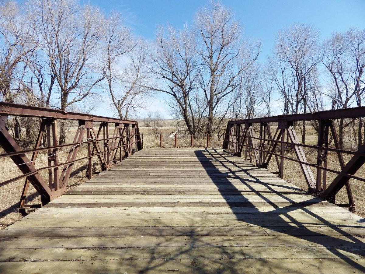 Bridge at Almont Heritage Park