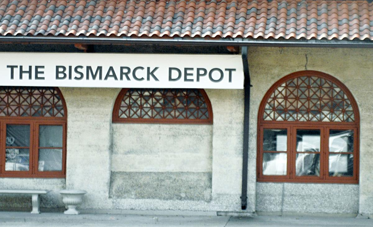 bismarck depot s lattice patterned windows are history local news