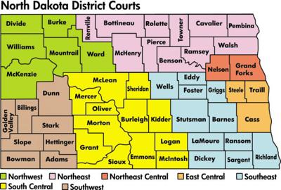 North Dakota District Courts