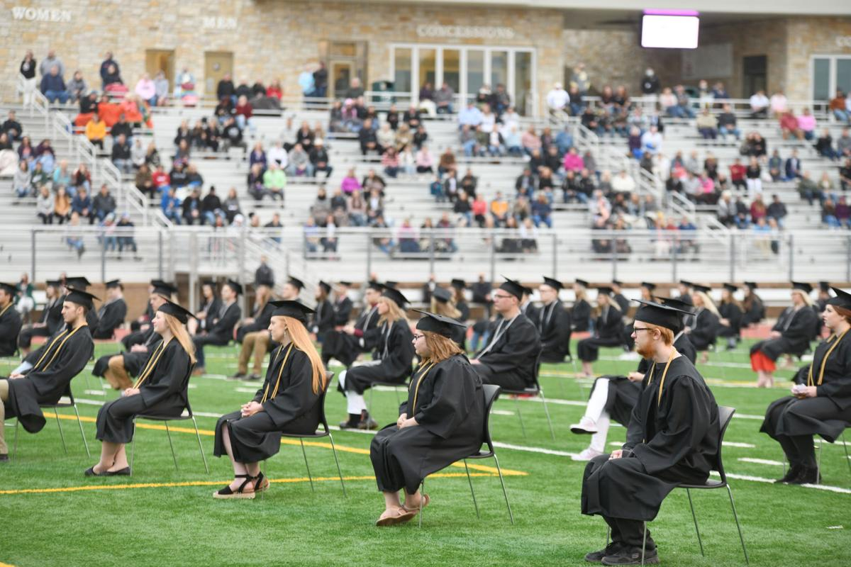 Social distanced graduation