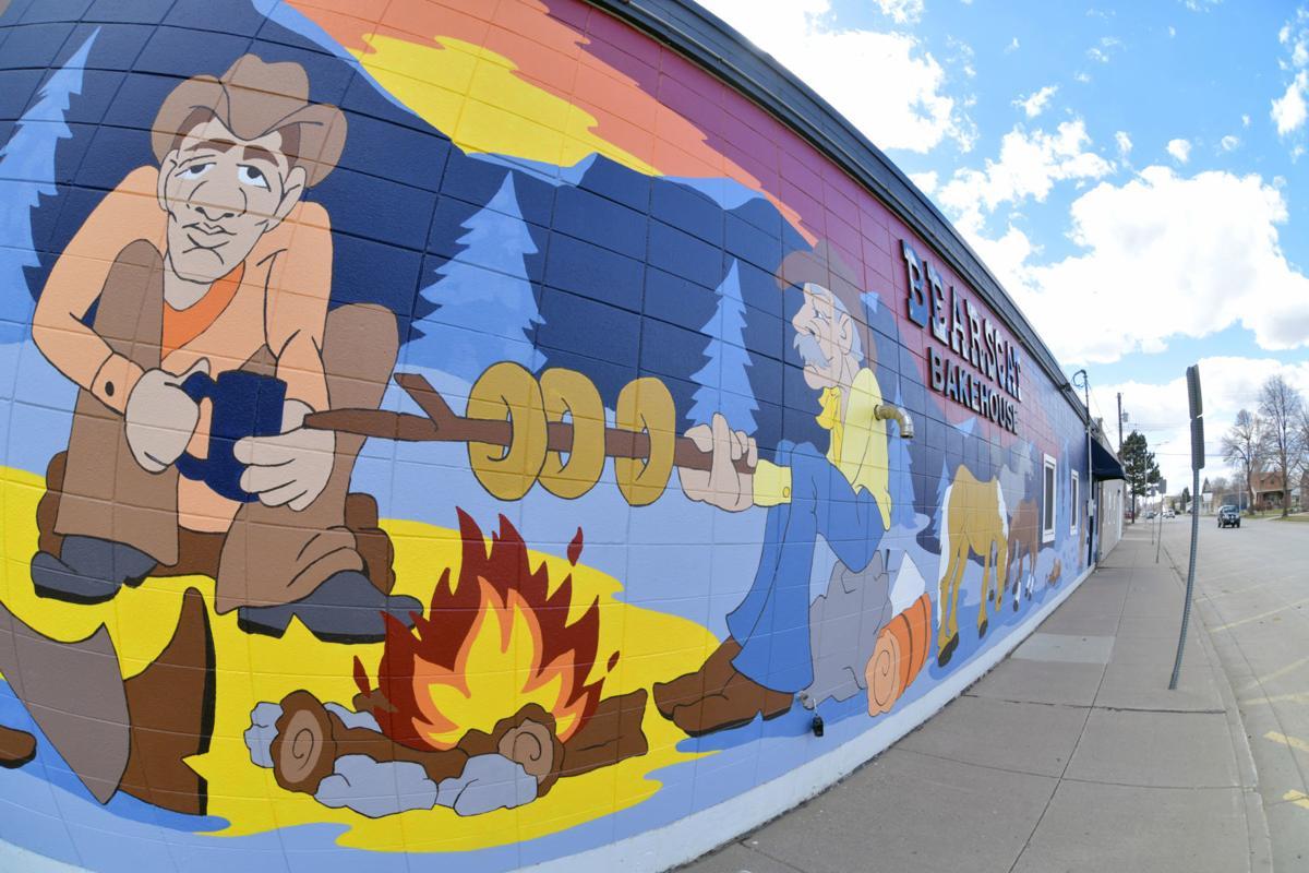 bakery mural