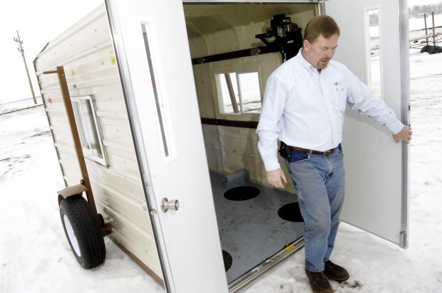 New owner looks to expand mandan manufacturing business for Ice fish house manufacturers