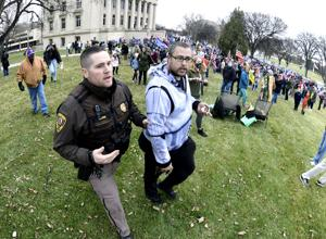 Assault charge filed against protester in Trump rally fracas at Capitol