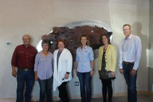 Heitkamp listens to needs of flax processing facility in Richardton