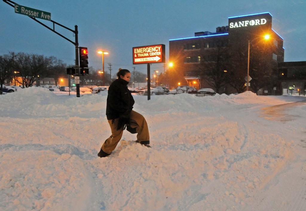 Snow removal slow going   Bismarck   bismarcktribune.com