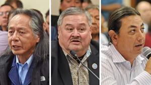 Past, present Standing Rock chairmen discuss wind farm progress