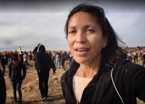 One charge dismissed for journalist arrested at DAPL protest, another still pending