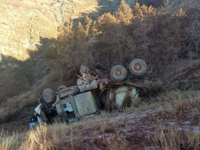 Truck spill