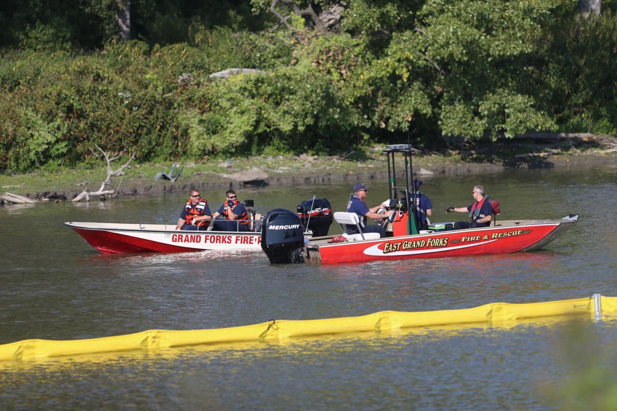 Enbridge, local responders train for pipeline leak in Red