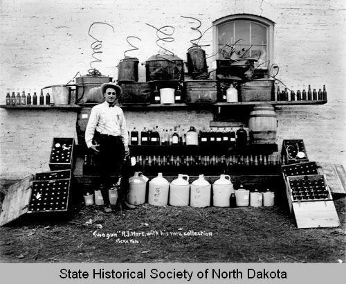 North Dakota's heritage of alcohol