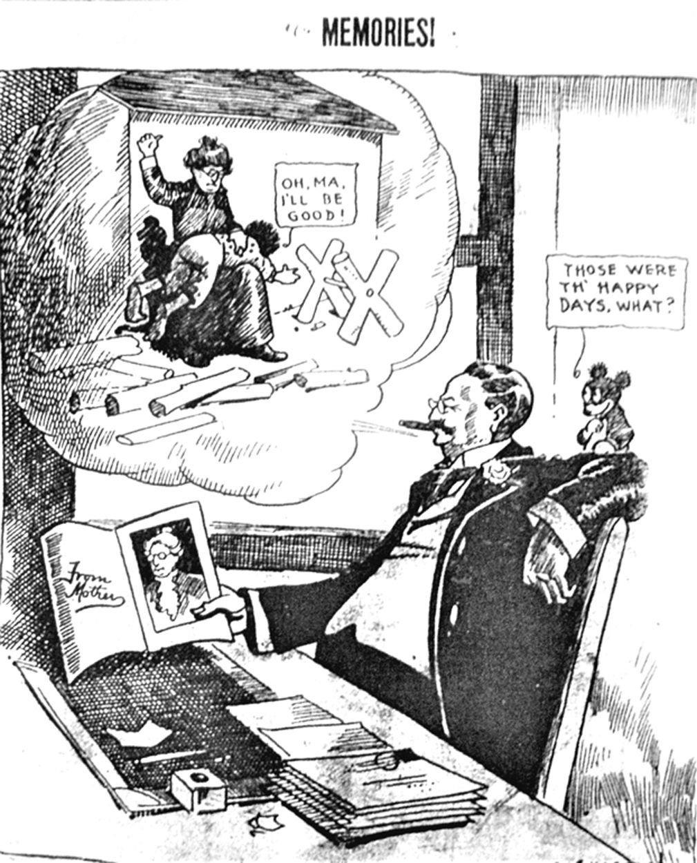 1918: Mother cartoon.