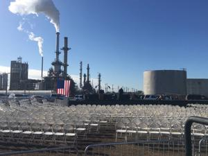 Final preparations underway for Trump visit
