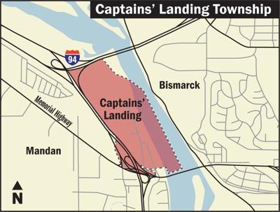 Captains' Landing 2 column map