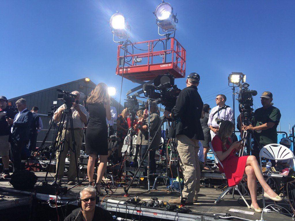 Media awaits