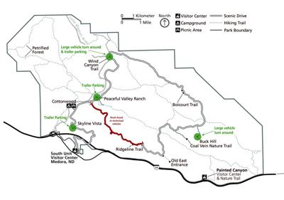 TRNP road closure map
