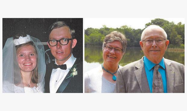 Happy 50th Wedding Anniversary, Doreen and Harvey Jeffers