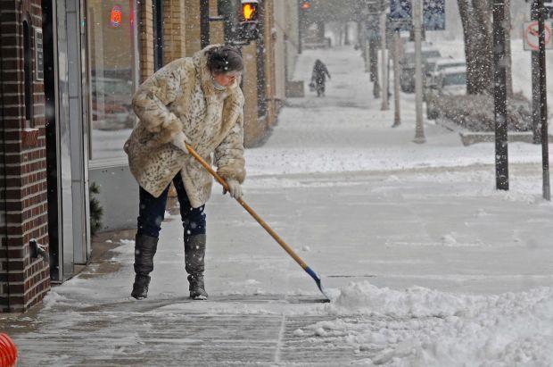 Clearing sidewalks in style