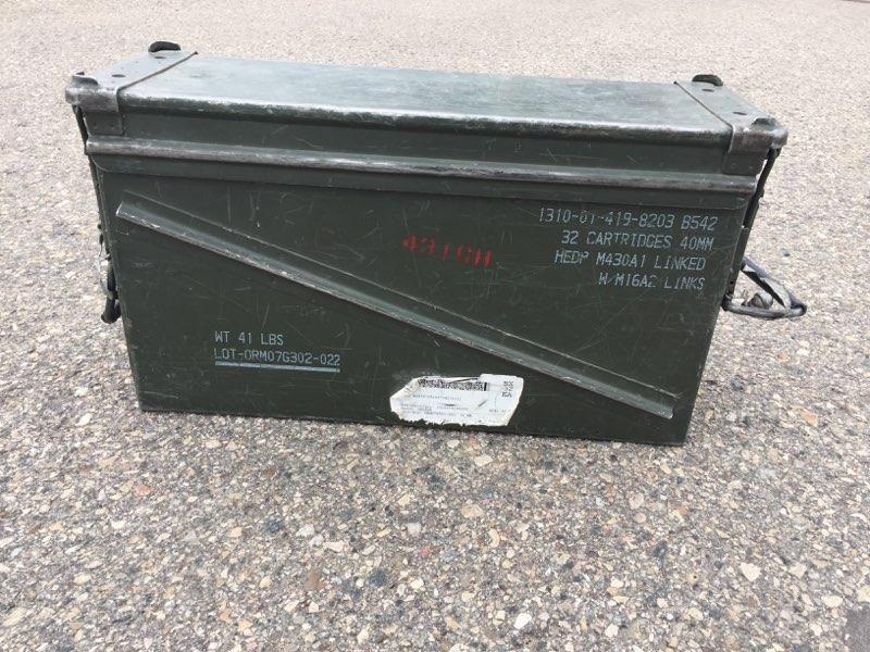 Missing explosives