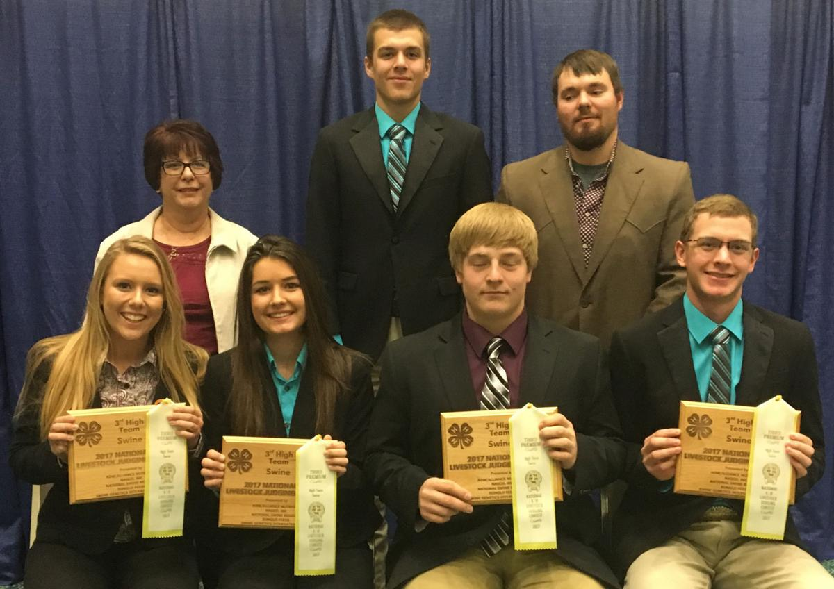 Morton County 4-H Livestock Judging Team