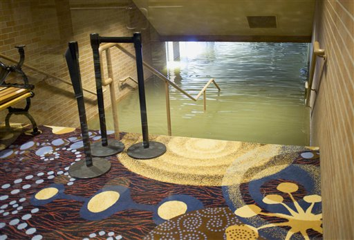 Ameristar Casino Council Bluffs Iowa Flooding