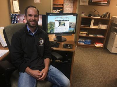 Morton County Emergency Program Specialist Cody Mattson