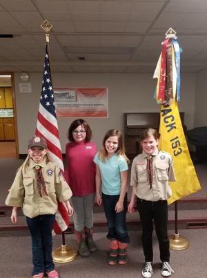 Girls step into Cub Scout packs
