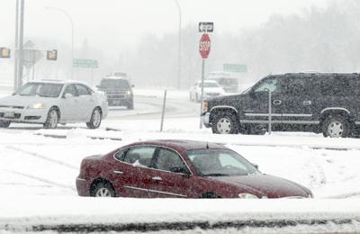 First major snowfall