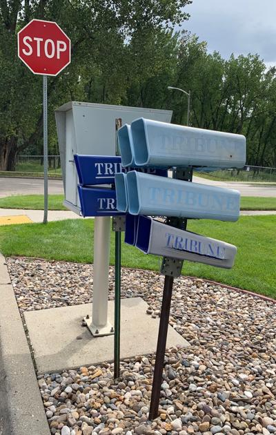 Tribune mailboxes