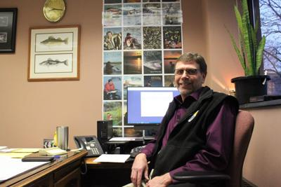 Greg Power, fisheries division chief for the North Dakota Game and Fish Department