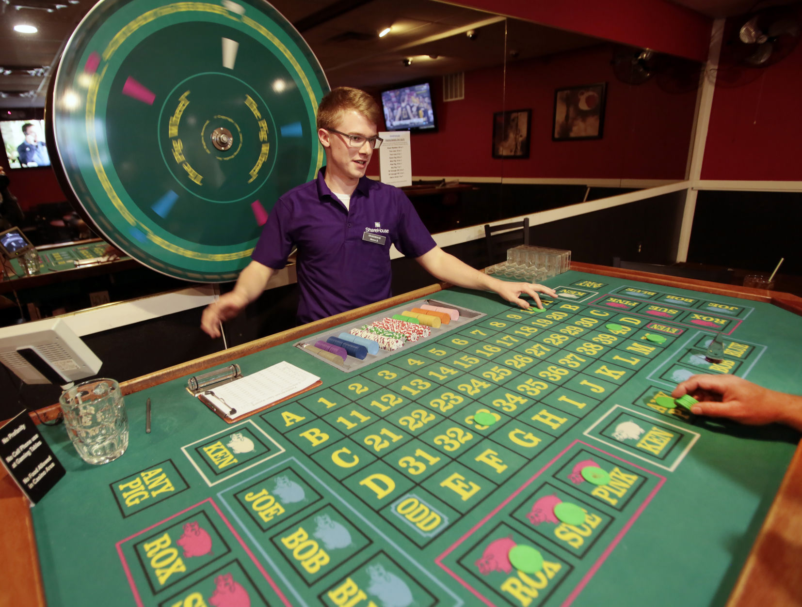 Gambling losses tax credit