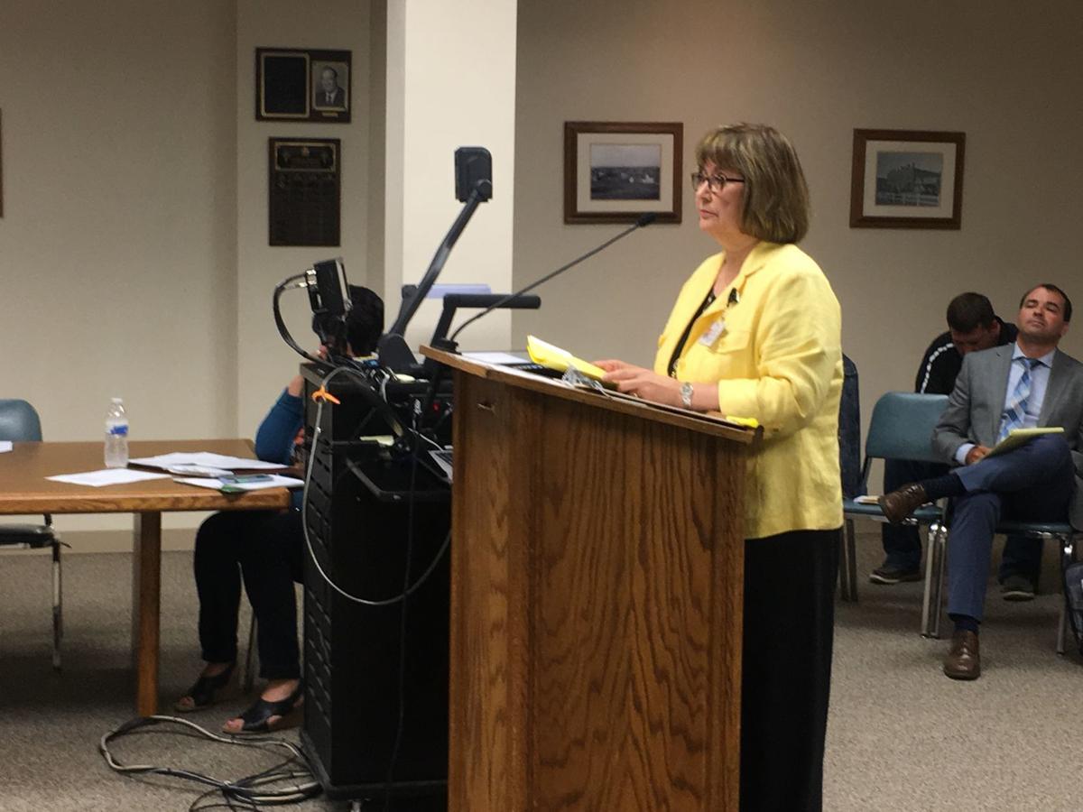 Judge DeNae Kautzmann at Mandan City Hall