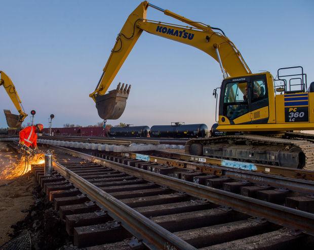 BNSF track maintenance