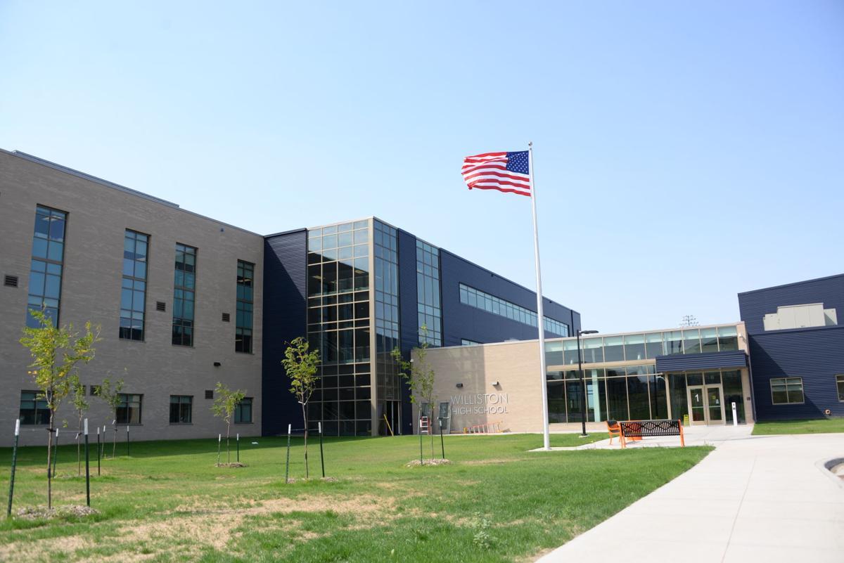 Williston High School-exterior