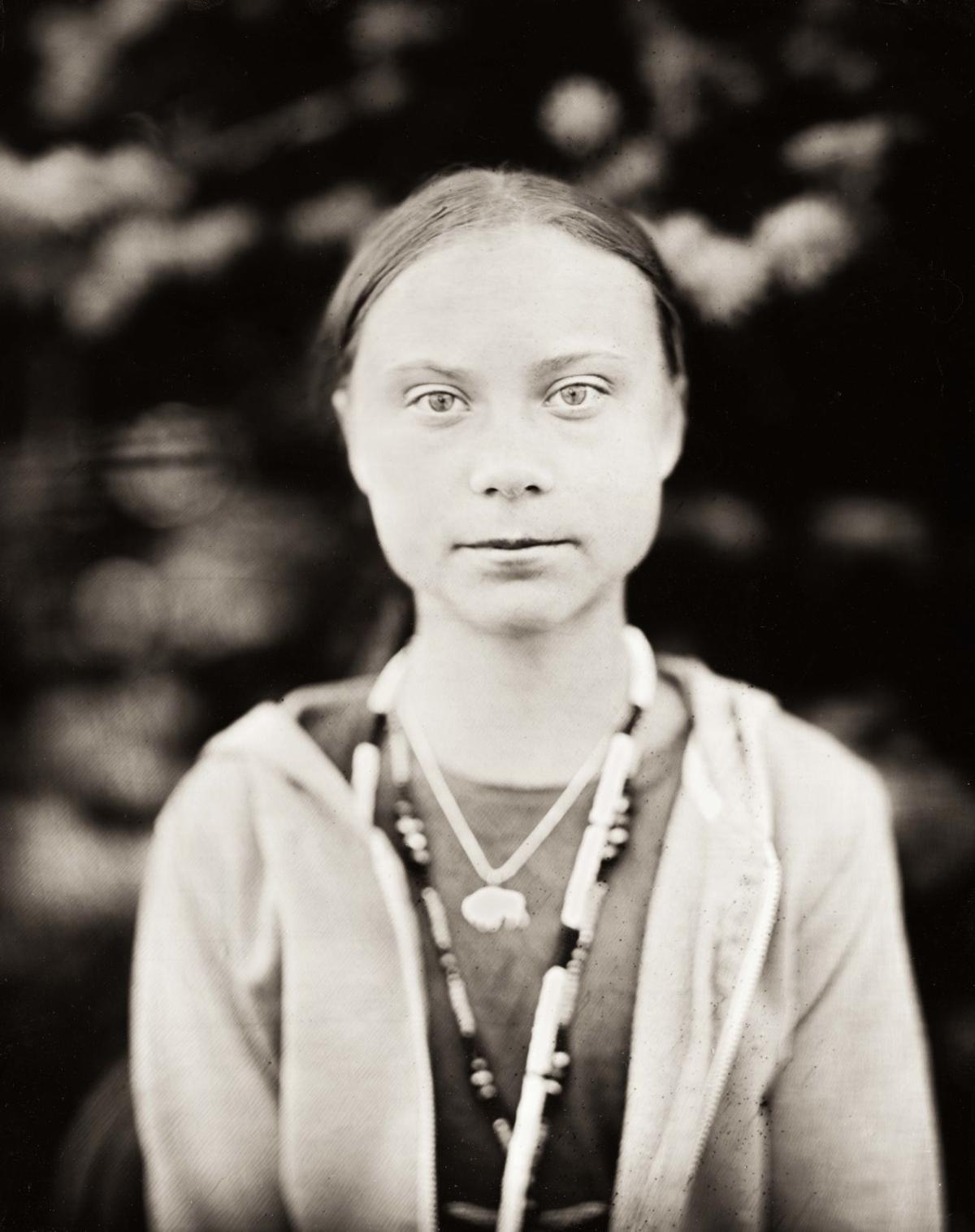 Thunberg close up
