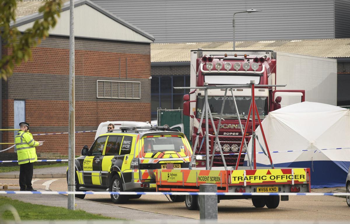 Britain Truck Bodies Found