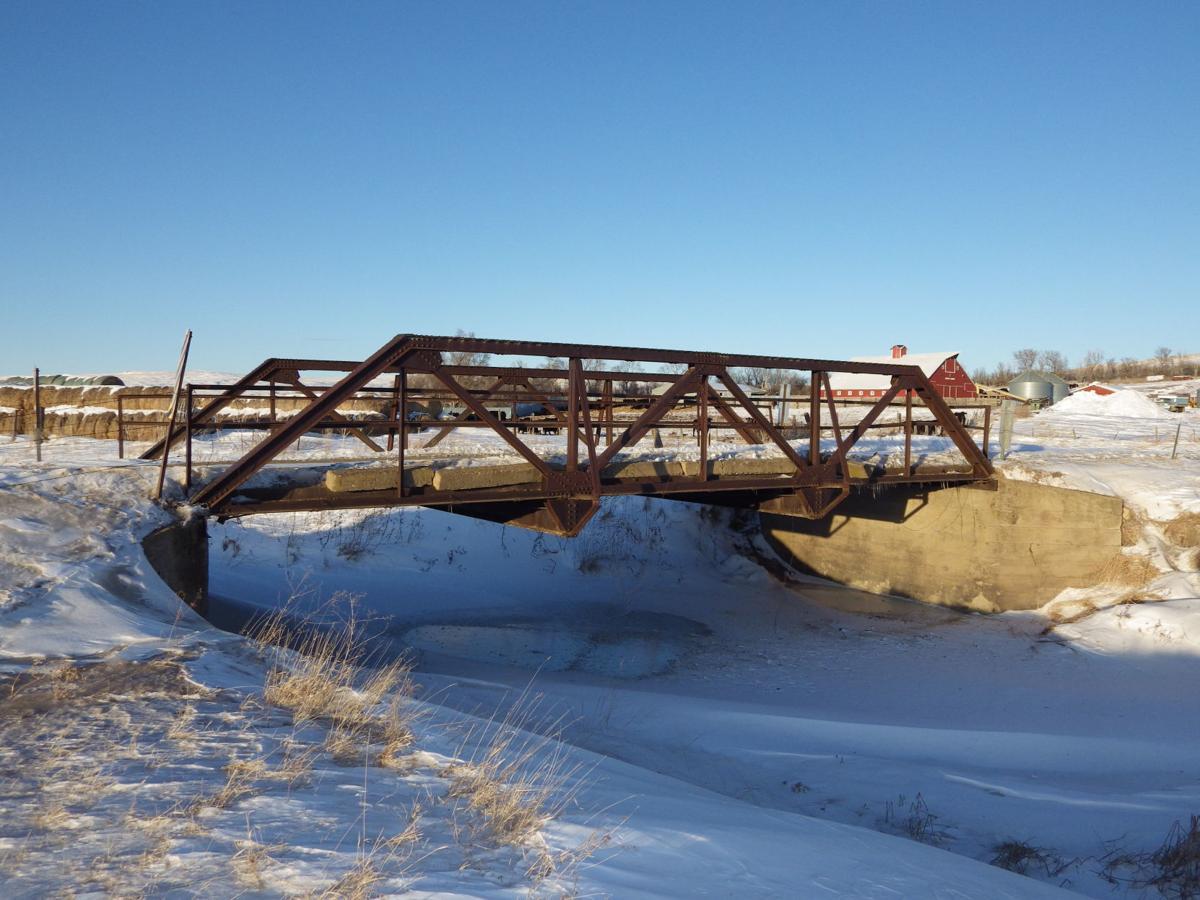 Bridge over Sims Creek