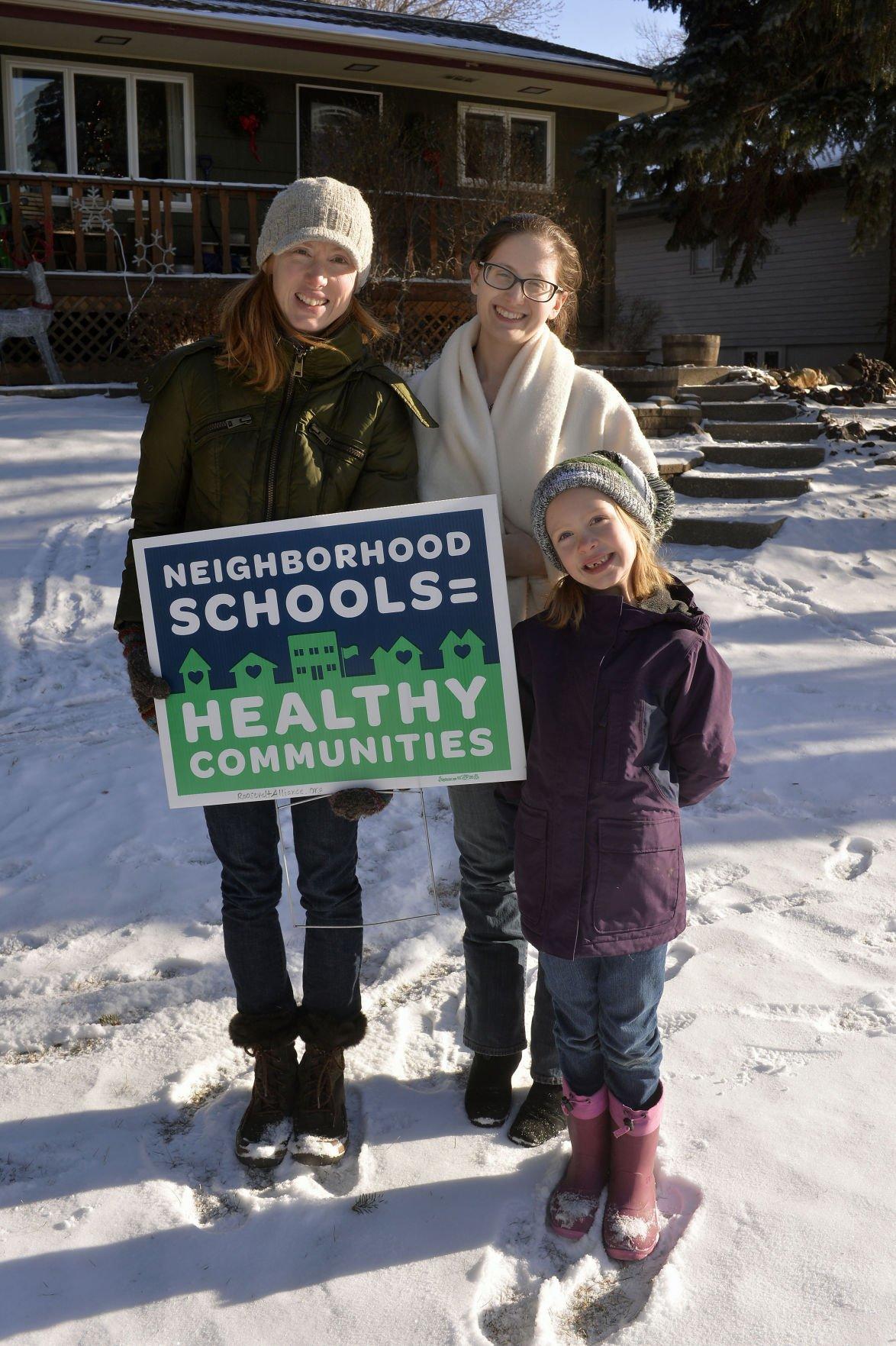 Neighborhood school campaign